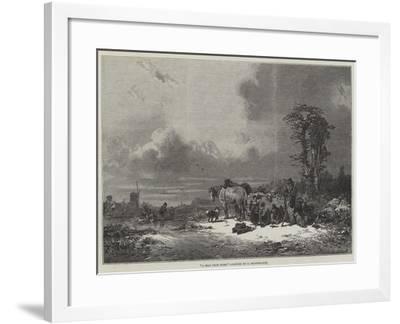 A Mile from Home-Eduard Hildebrandt-Framed Giclee Print