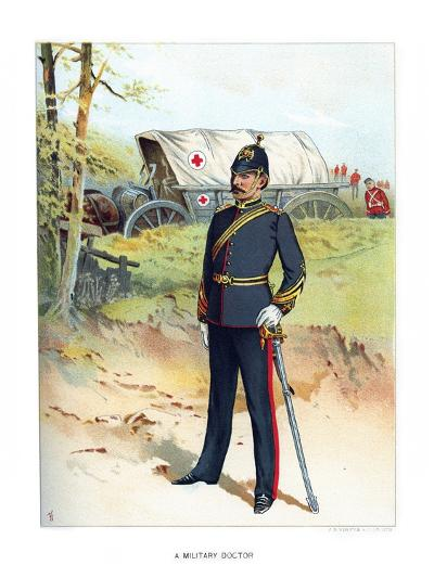 A Military Doctor, C1890-Frank Teller-Giclee Print