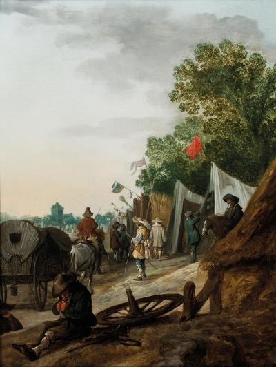 A Military Encampment-Palamedes Palamedesz-Giclee Print