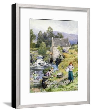 A Mill Pool-Myles Birket Foster-Framed Giclee Print