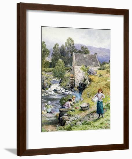 A Mill Pool-Myles Birket Foster-Framed Giclee Print