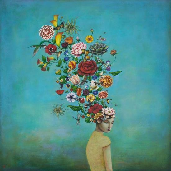 A Mindful Garden-Duy Huynh-Art Print