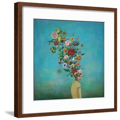 A Mindful Garden-Duy Huynh-Framed Art Print