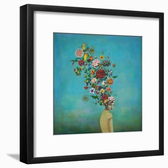 A Mindful Garden-Duy Huynh-Framed Giclee Print