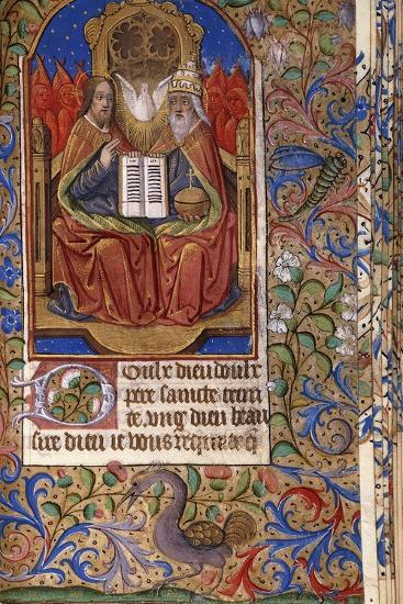 A Miniature from a Book of Hours--Giclee Print