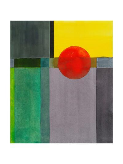 A Minimalist Abstract Painting-clivewa-Art Print