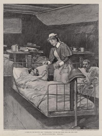 A Ministering Angel-William Hatherell-Giclee Print