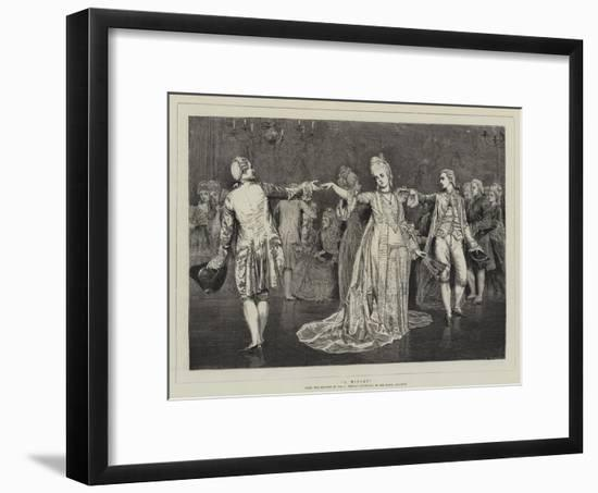 A Minuet-Valentine Cameron Prinsep-Framed Giclee Print