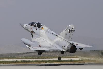 A Mirage 2000-5Dda from the Qatar Emiri Air Force Taking Off-Stocktrek Images-Photographic Print