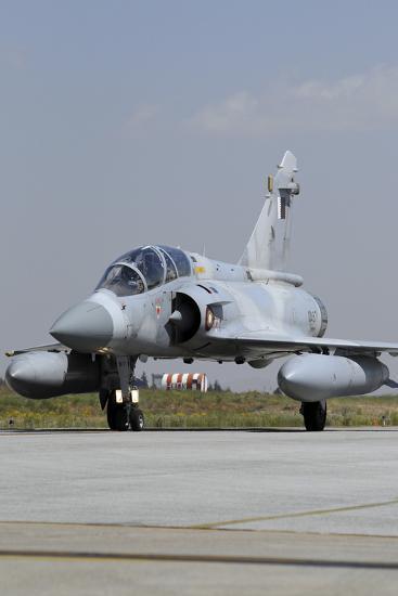 A Mirage 2000-5Dda from the Qatar Emiri Air Force Taxiing at Konya Air Base-Stocktrek Images-Photographic Print