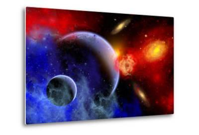 A Mixture of Colorful Stars, Planets, Nebulae and Galaxies