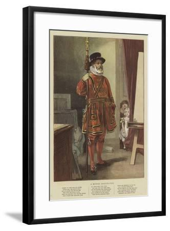 A Model Beefeater--Framed Giclee Print