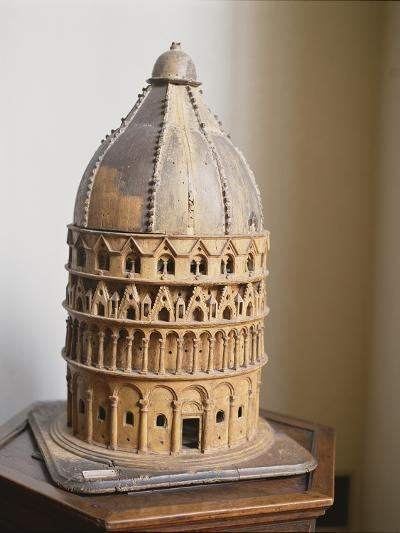A Model of the Baptistery at Pisa--Giclee Print