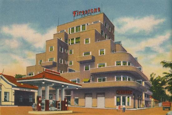 'A modern building, Baranquilla', c1940s-Unknown-Giclee Print