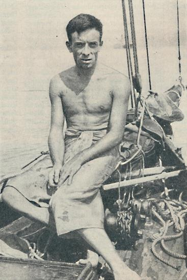 'A Modern Ulysses. Gerbault photographed at Suva, in the Fiji Islands', 1936-Unknown-Giclee Print