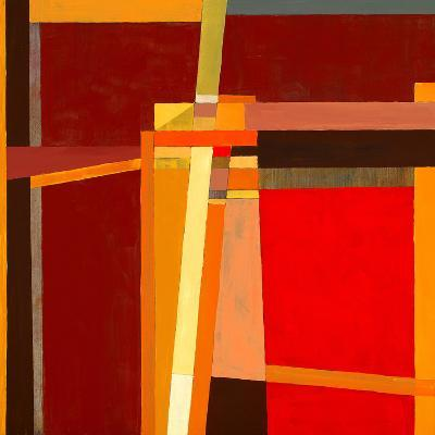A Modernist Abstract Painting-clivewa-Art Print
