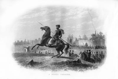 A Mogul Trooper, 19th Century--Giclee Print