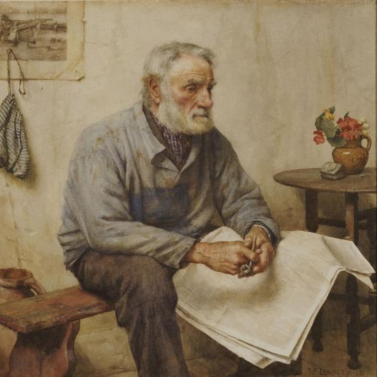 A Moment's Rest-Walter Langley-Giclee Print
