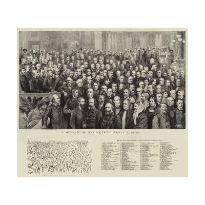 A Momento of Her Majesty's Jubilee Year, 1887--Giclee Print