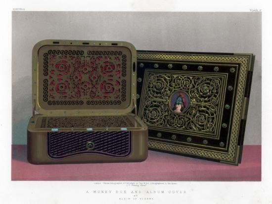 A Money Box and Album Cover, 19th Century-John Burley Waring-Giclee Print