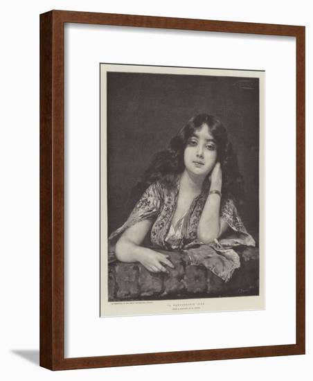 A Montenegrin Girl-Nathaniel Sichel-Framed Premium Giclee Print
