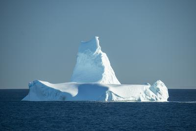 A Monument Looking Iceberg in the Labrador Sea-Michael Melford-Photographic Print