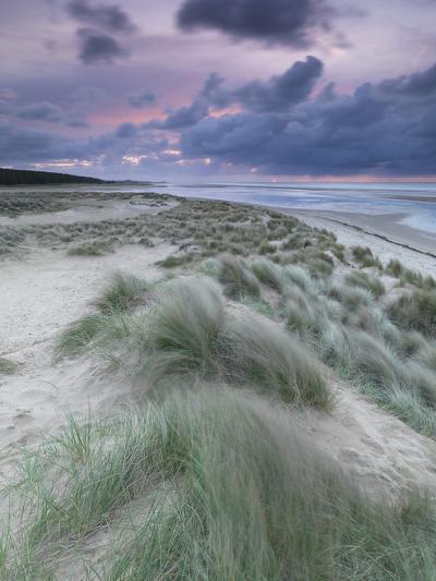 A Moody Spring Evening at Holkham Bay, Norfolk-Jon Gibbs-Photographic Print