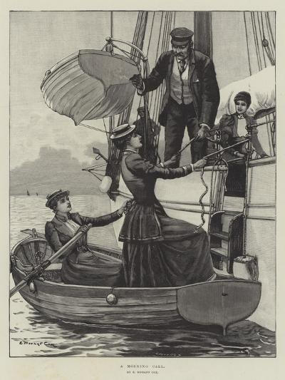 A Morning Call-Edward Morant Cox-Giclee Print