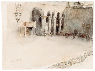A Morning in St. Mark's-Robert Frederick Blum-Giclee Print