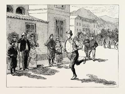 A Morning Ride in Athens--Giclee Print