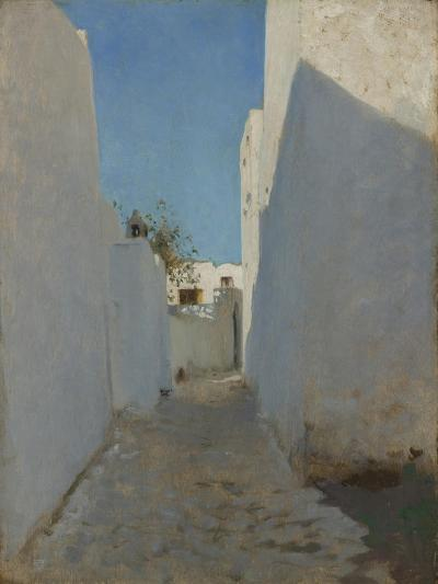 A Moroccan Street Scene, 1879-1880-John Singer Sargent-Giclee Print