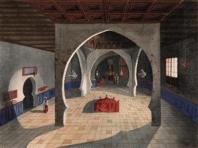A Mosque-Eduardo Flores Ibáñez-Giclee Print
