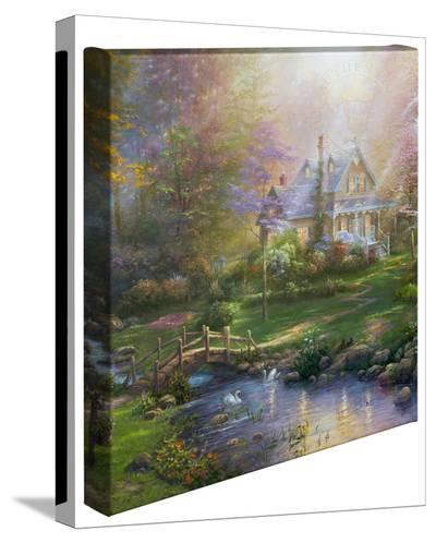 A Mother's Perfect Day-Thomas Kinkade-Gallery Wrapped Canvas