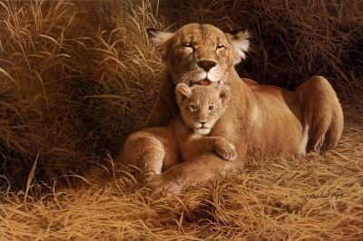 A Mother's Pride-W^ Michael Frye-Art Print