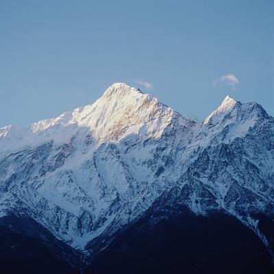 A Mountainous Landscape--Photographic Print