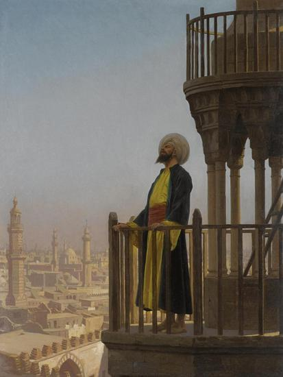 A Muezzin-Jean-L?on Ger?me-Giclee Print