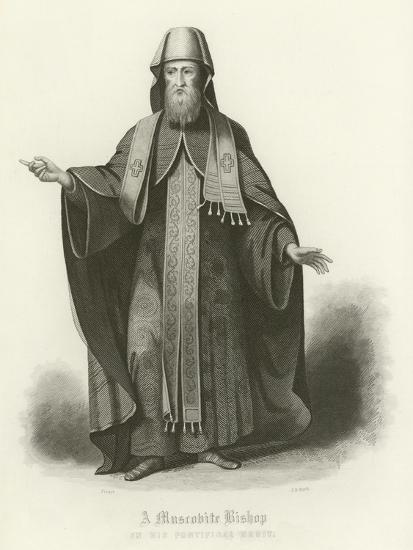 A Muscovite Bishop--Giclee Print