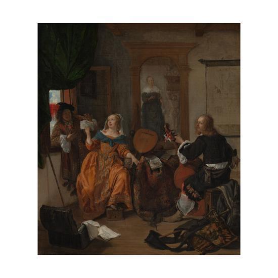 A Musical Party, 1659-Gabriel Metsu-Giclee Print