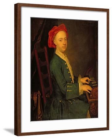 A Musician, C.1700-50--Framed Giclee Print