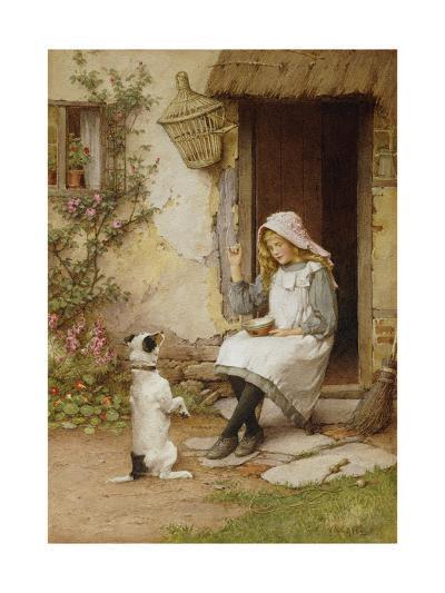 A Mute Appeal-Charles Edward Wilson-Giclee Print