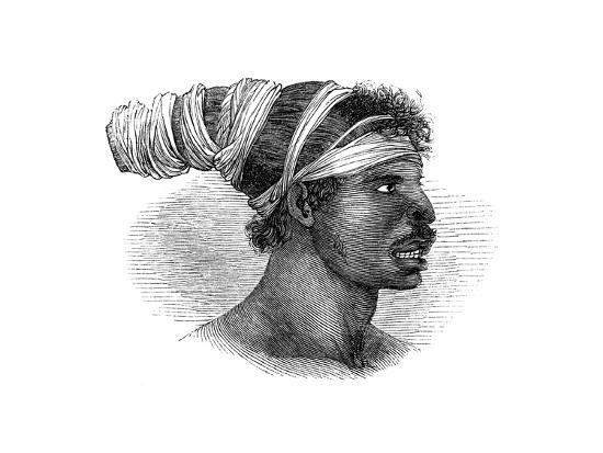 A Native Australian, 1848--Giclee Print