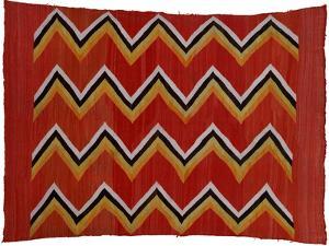 A Navajo Transitional Wedgeweave Blanket