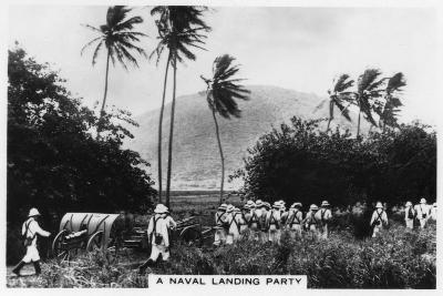 A Navy Landing Party, St Kitts, West Indies, 1937--Giclee Print