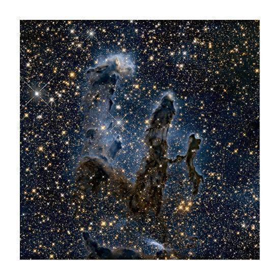 A Near-Infrared View of the Pillars of Creation--Art Print