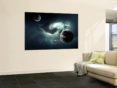 A Nearby Nebula Forming Deadly Vortex-Stocktrek Images-Giant Art Print