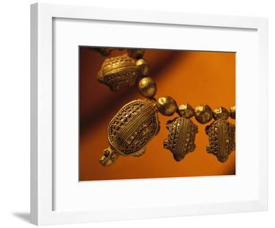 A Necklace of Gold Turtles from the Fifth Century B.C.-Randy Olson-Framed Photographic Print