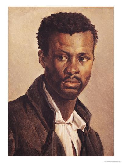 A Negro, 1823-24-Th?odore G?ricault-Giclee Print