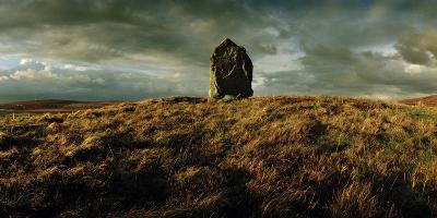 A Neolithic Standing Stone Upon a Knoll-Macduff Everton-Photographic Print
