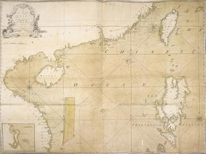 A New and Correct Chart of the Coast of China, 1740