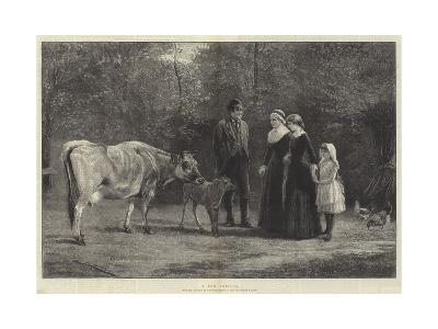 A New Arrival-Heywood Hardy-Giclee Print